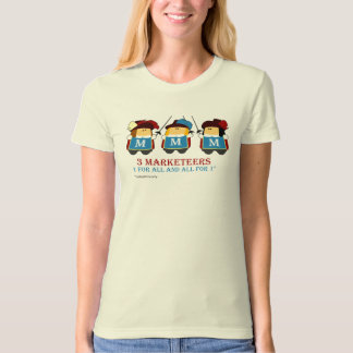 3 Marketeers - for the ladies T-Shirt