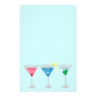 3 Martinis Stationery