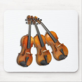 3 MUSICAL VIOLINS MOUSE MAT