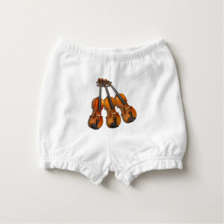 3 MUSICAL VIOLINS NAPPY COVER