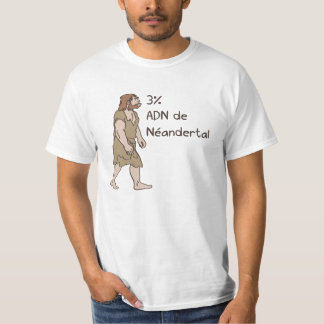 3% Neanderthal French T-Shirt