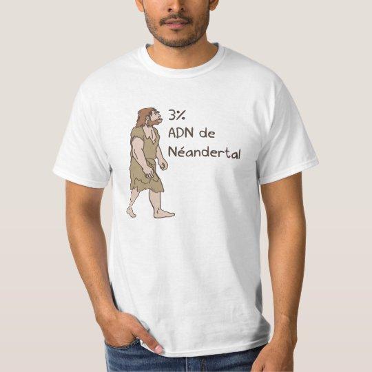 3% Neanderthal French T-Shirt