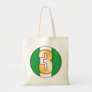 3 NIGERIA Gold Tote Bag