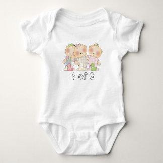 3 of 3 Triplet Cuties Baby Bodysuit