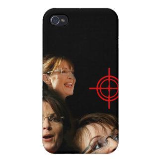 3 Palin Bullseye iPhone 4 Cases