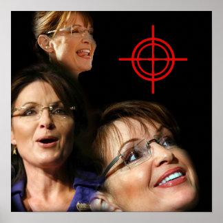 3 Palin Bullseye Print