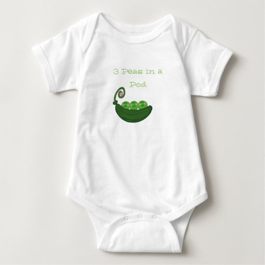 3 Peas in  Pod Baby Bodysuit