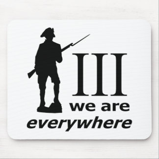 3 Percent, We Are Everywhere Mouse Mat