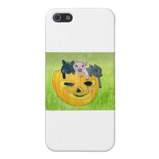 3 Pigs in a Pumpkin Covers For iPhone 5