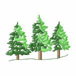 3 Pine Trees