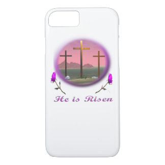 3 Pink crosses Christian gifts iPhone 8/7 Case