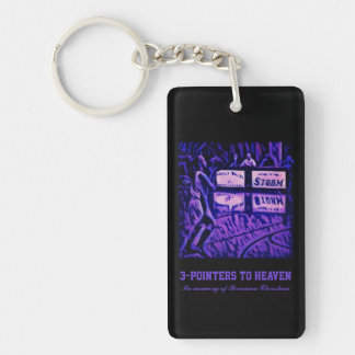 3-pointers to Heaven Double-Sided Rectangular Acrylic Key Ring