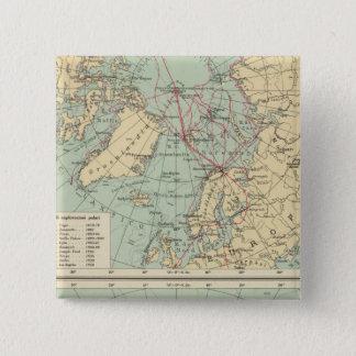3 Polar Lands 15 Cm Square Badge