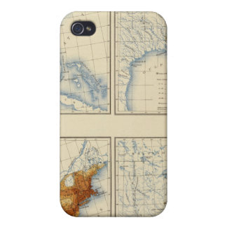 3 Population 17901820 iPhone 4 Case