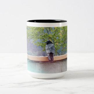 3 Ravens Two-Tone Coffee Mug