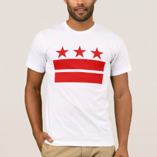 3 Red Stars 2 Red Bars T-Shirt
