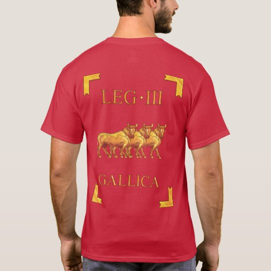 3 Roman Legio III Gallica Vexillum T-Shirt