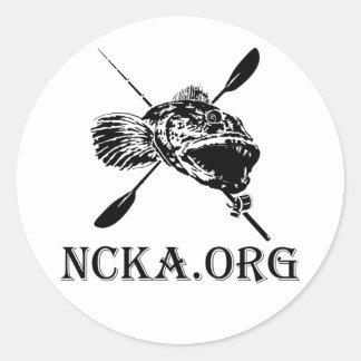 "3"" Round NCKA Sticker"