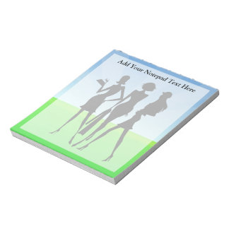 3 Shopping Women Friends Notepad