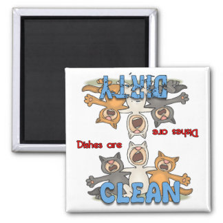 3 Singing Cats - Cat Lovers Dishwasher Magnet