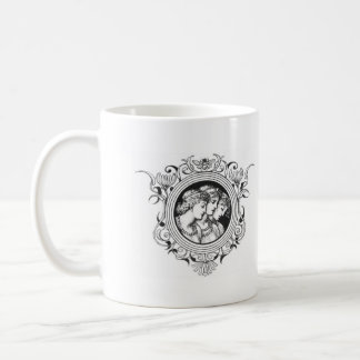 3 Sisters of Grace Basic White Mug
