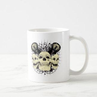 3 Skull Guitars Coffee Mug