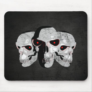 3 Skulls Mouse Pads