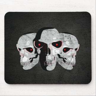 3 Skulls Mouse Pad