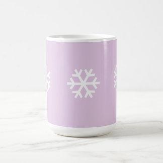 3 Small Snowflake Mug