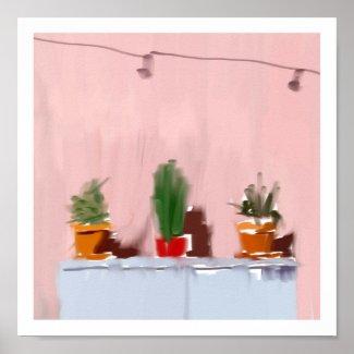 3 Spanish Plants Poster