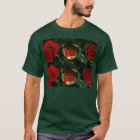 3 stages of ROSE Flower : Great HAPPY Celebrations T-Shirt