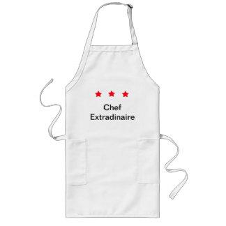 3 Star Chef Long Apron