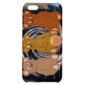 3 Teddies iPhone Case iPhone 5C Cover