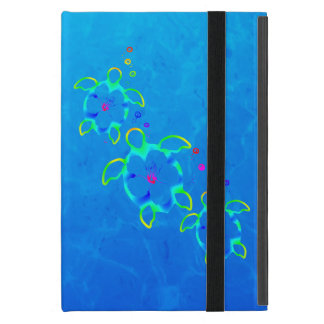 3 Tie Dyed Honu Turtles iPad Mini Case