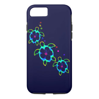 3 Tie Dyed Honu Turtles iPhone 8/7 Case