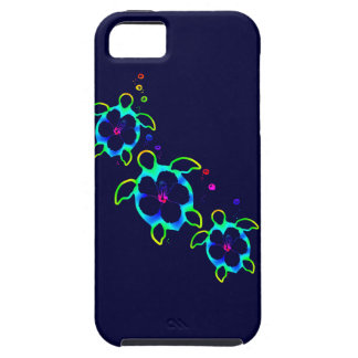3 Tie Dyed Honu Turtles Tough iPhone 5 Case