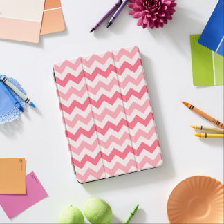 3 Tone Pink Zig Zag iPad Air Cover