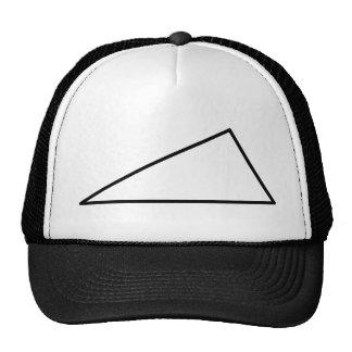 3 triangle trucker hats