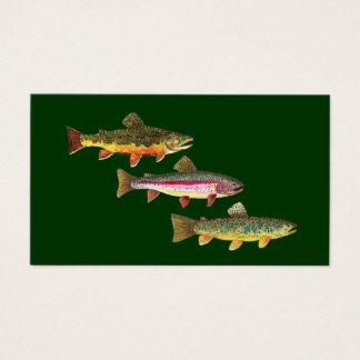 3 Trout for Fly Fishing Fishermen and Fisherwomen
