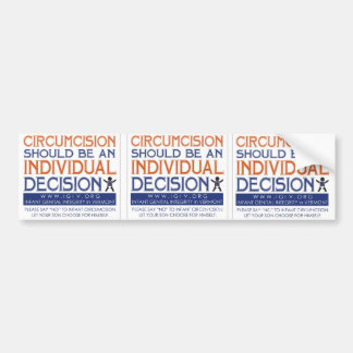 "3 Up ""Individual Decision"" Sticker"
