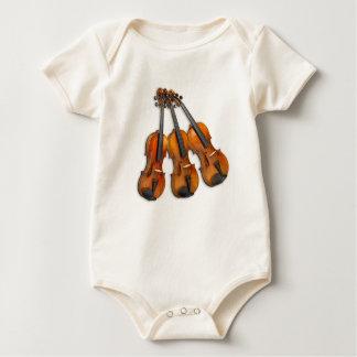 3 VIOLINS BABY BODYSUIT