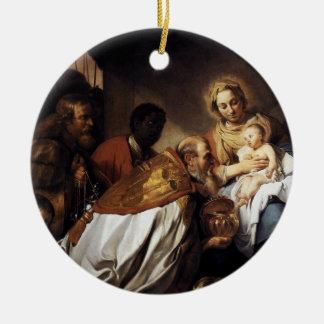 3 Wise Men Visit Ornament