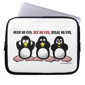 3 Wise Penguins Laptop Sleeve