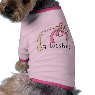 3 Wishes Pet T-Shirt