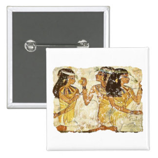 3 women 15 cm square badge