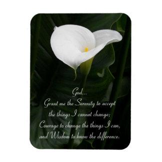 3 x 4 Serenity Prayer Lily Magnet