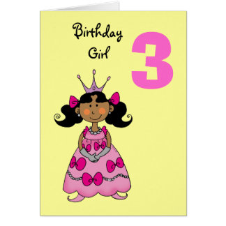 Year Old Princess Black Hair Card E Aadebb Xvuat Byvr Jpg 324x324 Birthday Cards For Girls