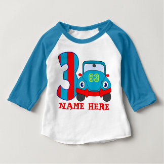 3 YearS Old Birthday Baby T-Shirt