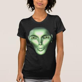 3D Alien Head Extraterrestrial Women s T-shirt