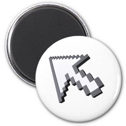 3D arrow Fridge Magnets